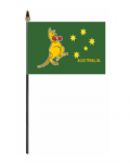 Kangaroo Hand Flag - Small.